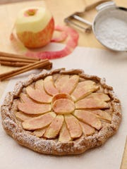 Use local apples to make this easy Rustic Apple Galette.