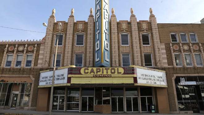 The Capitol Theatre in Downtown Flint is seen on Tuesday February 23, 2016. Ryan Garza | Detroit Free Press