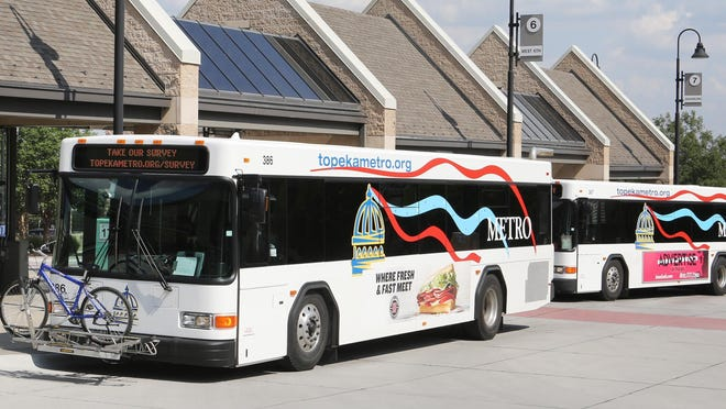 Topeka Metro is reminding students in USD 501 that bus passes are free for middle and high school students now that they are attending in-person classes.