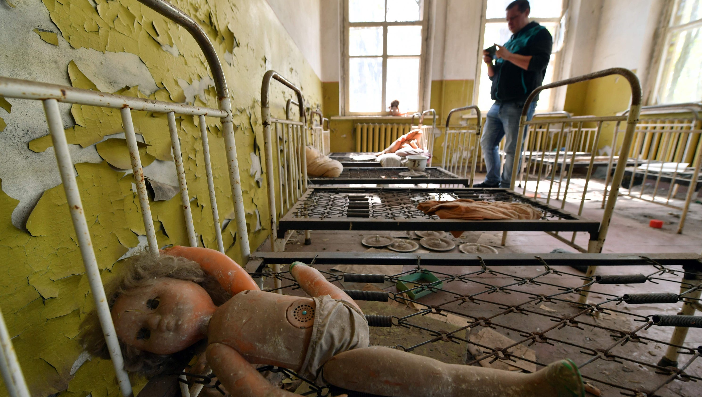 32 years after the Chernobyl disaster