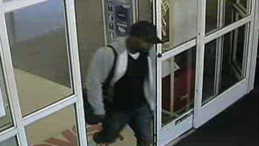 Police say this man robbed a Wilmington CVS at gunpoint Monday morning.