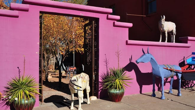 Celebrate the Burro Anniversary at Gallery 408 from 5 to 7 p.m. Burrito dinner served at 6 p.m. Artists, collectors and admirers of the Burros of Carrizozo celebrate with Gallery 408 on Twelfth Street ten years of Burros walking the streets and rooftops of Zozo.