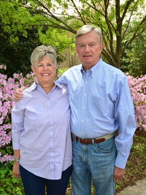 Susan and Ken Smith help Strike Out Parkinson's.