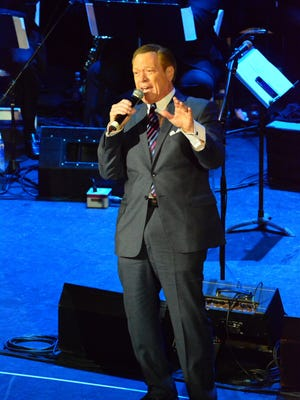 Joe Piscopo welcomes guests to the 2016 New Jersey Hall of Fame ceremony in Asbury Park.
