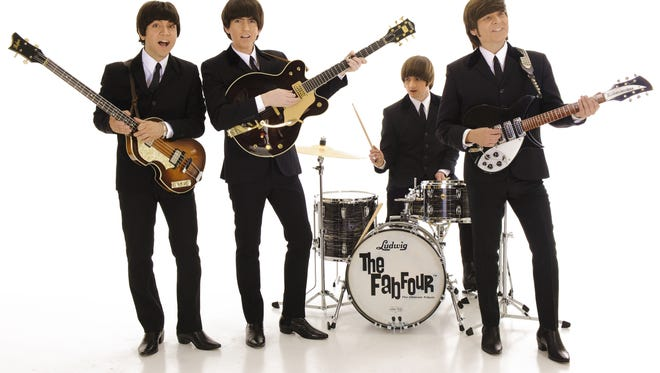 The Fab Four, a Beatles tribute band, is scheduled to perform at the Capitol Civic Centre on April 23.