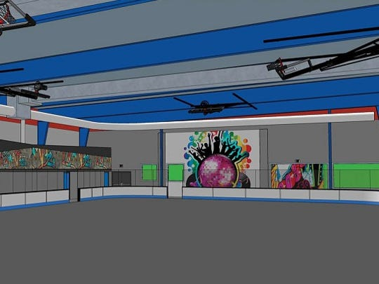 A rendering of the Change Center.