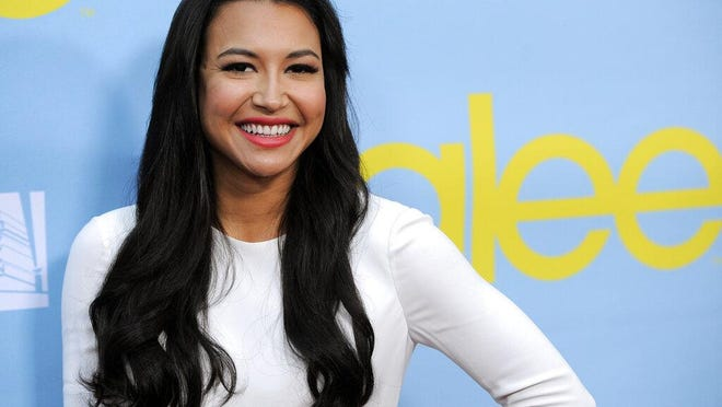 """Naya Rivera, a cast member in the television series """"Glee,"""" poses at a screening and Q&A for the show, at the Academy of Television Arts and Sciences in Los Angeles in 2012."""