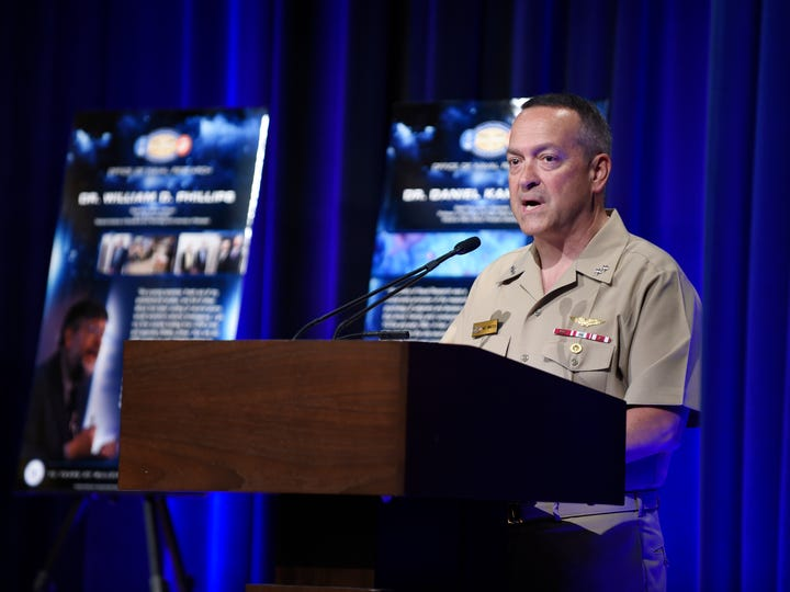 Rear Adm. Mat Winter, chief of naval research, said