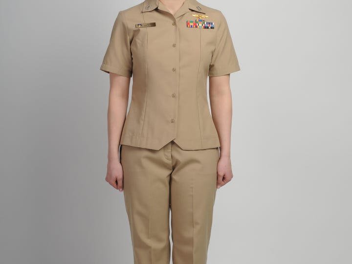 The Navy is developing a beltless trouser for the popular