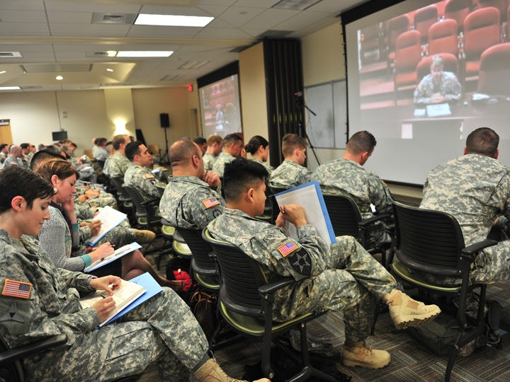 The Army is offering a diverse menu of PME for members
