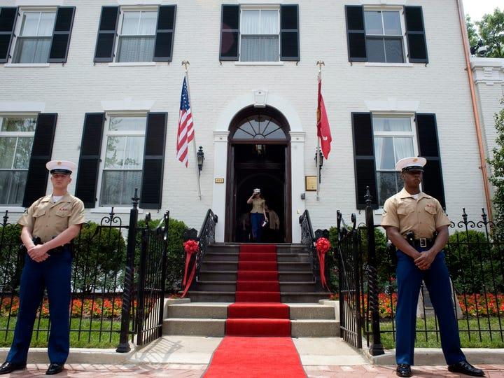 The Home of the Commandants at Marine Barracks Washington