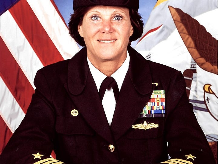 Cmdr. Regina Cox, CO of Naval Computer and Telecommunications