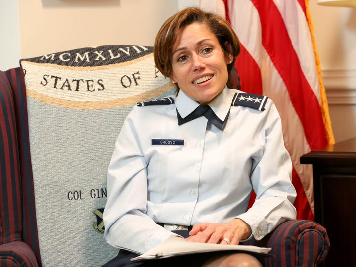 Lt. Gen. Gina M. Grosso, deputy chief of staff for
