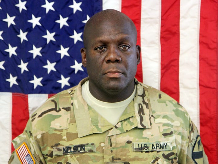 Sgt. Marcus Lamarr Nelson Sr. died May 23, 2016.