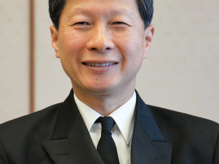 Adm. Tomohisa Takei, chief of staff of the Japanese