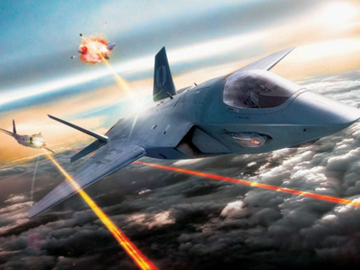 The US Air Force will demonstrate a high-powered laser