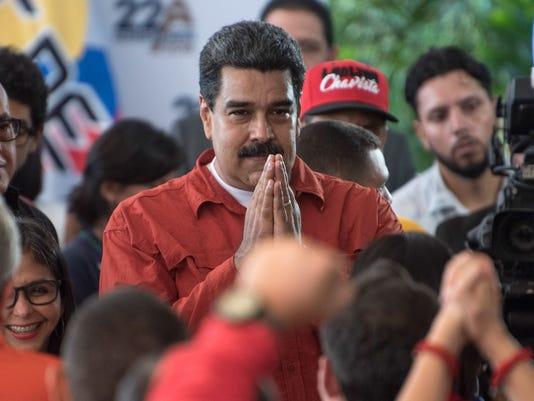 VENEZUELA-CRISIS-ELECTION-CANDIDACY-MADURO