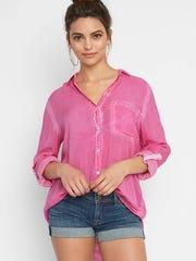 Elisa Garment shirt $84, South Moon Under, Tice's Corner,