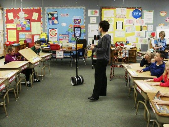 Lincoln-Erdman Elementary second grade teacher Karen