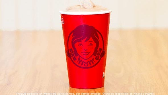 For a limited time, get a 50-cent Frosty at Wendy's.