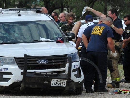 Wichita Falls stolen police car