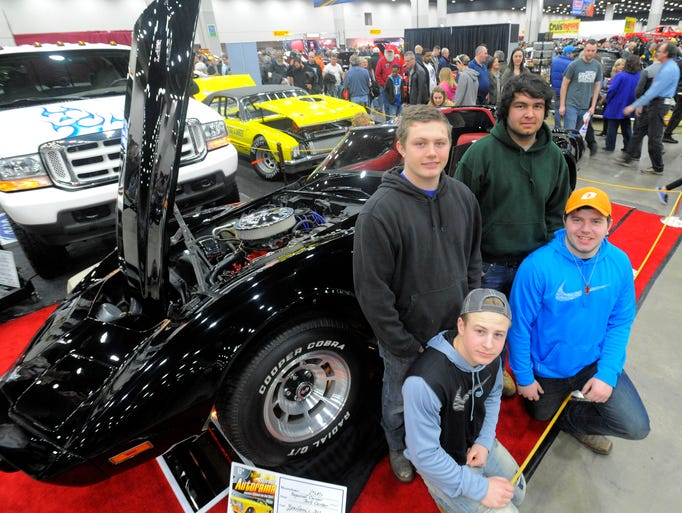 High school hot rodders clockwise, Scott Turner, top