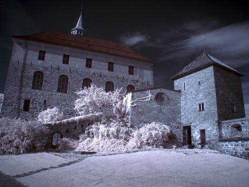 Akershus Fortress, Oslo: Dating from 1299, this castle still serves as a military base and also hosts glittering state occasions. The remains of kings and queens rest here in the Royal Mausoleum. In the 19th century the castle housed political prison