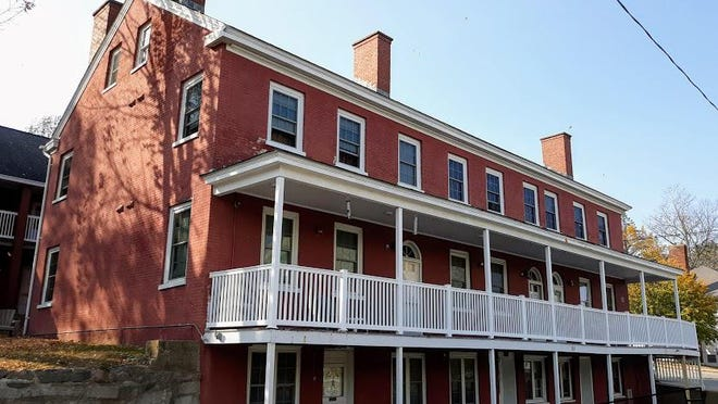 The old LeHoullier Building stands on the corner of Fayette and Main streets and is a great example of a mill tenement house from the past, now owned by the Somersworth Housing Authority.
