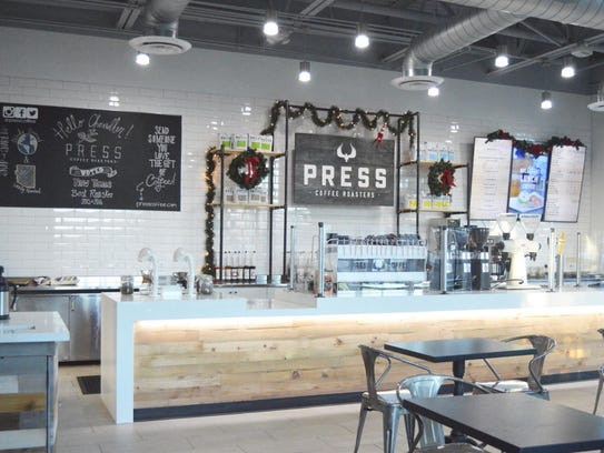 NOW OPEN: Press Coffee Roasters | Grab an espresso,