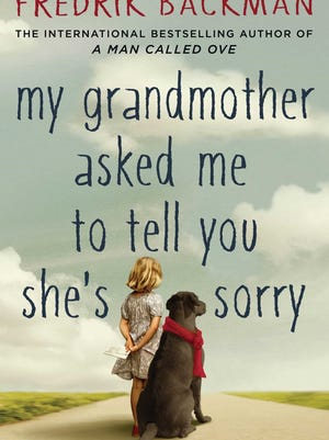 """My Grandmother Asked Me to Tell You She's Sorry"" is authored by Fredrik Backman. He is also the author of ""A Man Called Ove"" which is available at the Great Falls Public Library."