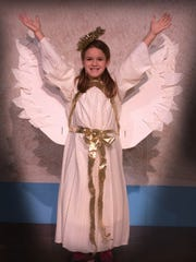 Aurora Hicks rehearses in DreamWrights Family Theatre