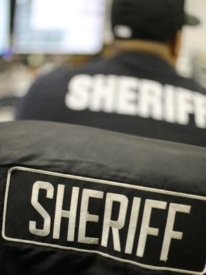 A female boss accused of sexually harassing a male subordinate at the Wayne County (Mich.) Sheriff's Office says she was the victim of sexual assault.