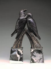 Local sculptor Kent Ullberg is one of three Texas artist featured in Birds in Art, a juried show at the Art Museum of South Texas through Nov. 19.