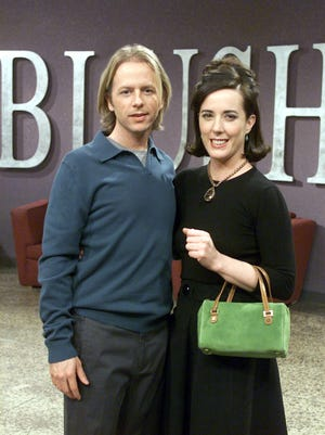 Kate Spade made a cameo on brother-in-law David Spade's NBC sitcom 'Just Shoot Me' in 2002.