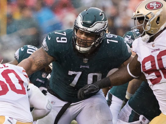 OG - Brandon Brooks, Philadelphia Eagles