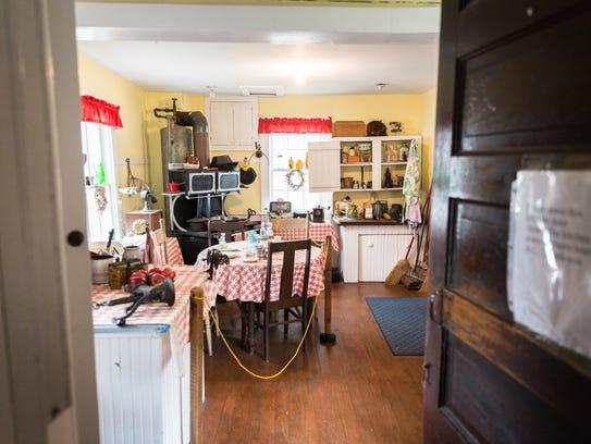 """Sallie's Kitchen"" in the Historic Johnson Farm house"