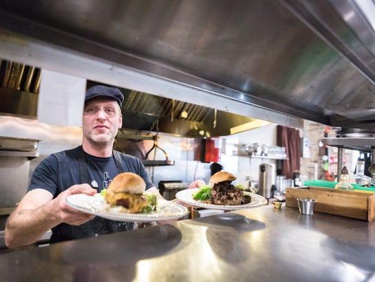 Nate Allen, owner of Fork and Knife restaurant in Spruce