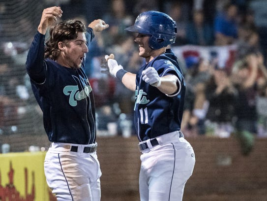 Asheville Tourists players live in apartments throughout