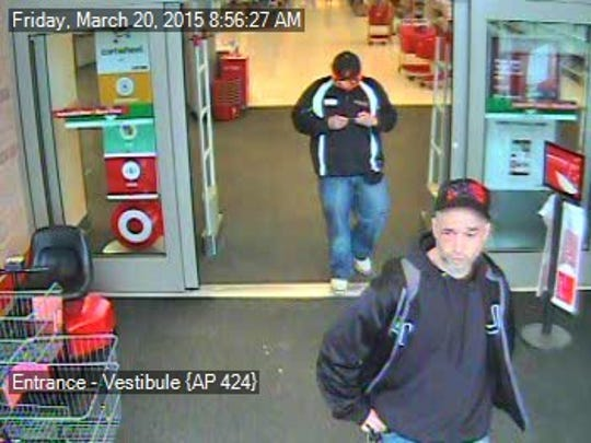 Greenville County Sheriff's Office is searching for these men who are suspects in vehicle break-ins and a burglary in northern Greenville County.
