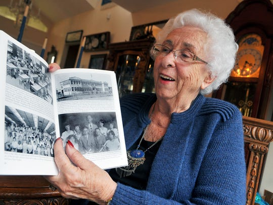 Patricia Manning, 88, began teaching in Brevard County