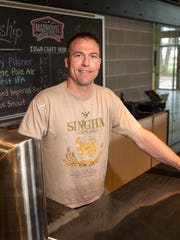 Mason Groben at Madhouse Brewing Co.