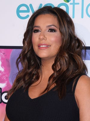 Eva Longoria, pictured in May, has given birth.