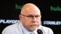 Barry Trotz coached the Washington Capitals for four
