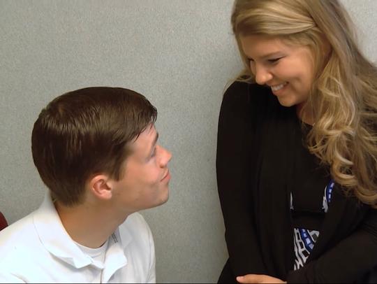 "Brandon and Michaella Keilen in a scene from ""Bringing"