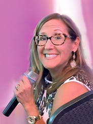As a trained actor, Pam Sherman is comfortable on stage: She's a frequent MC of charitable events and an international public speaker.