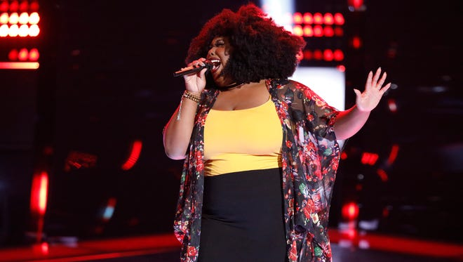 "THE VOICE -- ""Blind Auditions"" -- Pictured: Kyla Jade -- (Photo by: Tyler Golden/NBC)"