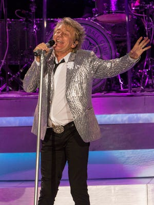 Rod Stewart performs on July 15.
