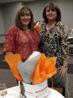 Bonnie Diaz, left, and Pat Jordan