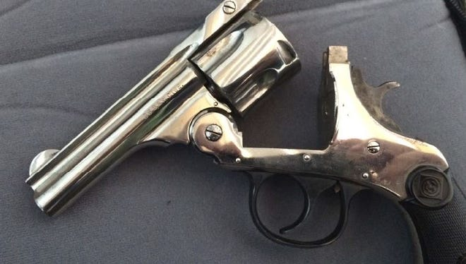 A Middletown man told TSA officials he didn't know there was an unloaded gun in his carry-on bag