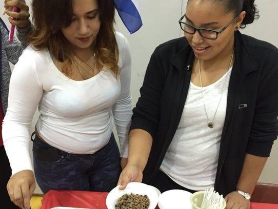 Yolenia Ordaz (left) and Paola N. Gonzalez, both Vineland